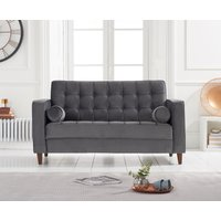 Read more about Ria grey velvet 2 seater sofa