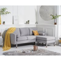 Read more about Lucas grey linen 3 seater reversible chaise sofa