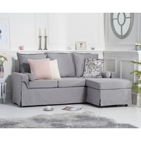 Read more about Clemence grey linen 3 seater reversible chaise sofa