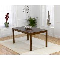 Oxford 150cm Dark Solid Oak Dining Table
