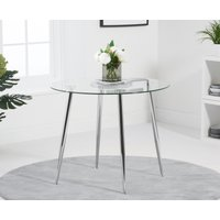 Read more about Cassa 90cm glass round dining table