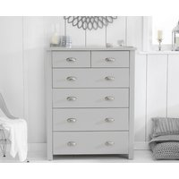 Read more about Somerset grey 2 over 4 drawer chest