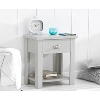 Read more about Somerset grey bedside table