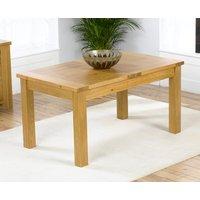 Rustique 150cm Oak Extending Dining Table
