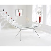 Read more about Savelli 150cm glass dining table