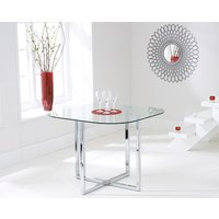 Read more about Algarve clear glass dining table