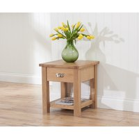 Read more about Somerset oak lamp table