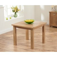 Somerset 90cm Flip Top Oak Dining Table