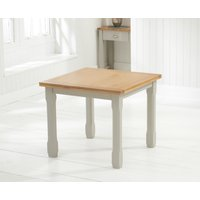 Read more about Somerset 90cm oak and grey flip top extending dining table