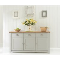 Read more about Somerset oak and grey 3 door 3 drawer sideboard