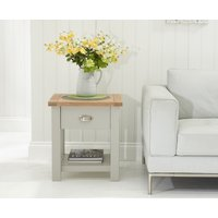 Read more about Somerset oak and grey side table