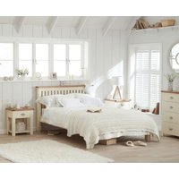 Read more about Somerset oak and cream king size bed