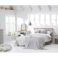 Read more about Somerset oak and grey double bed
