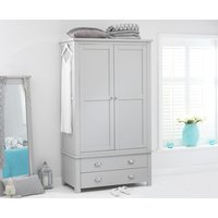 Read more about Somerset grey two door two drawer wardrobe