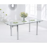 Read more about Geneva 140cm glass extending dining table