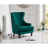 Read more about Pamela green velvet accent chair