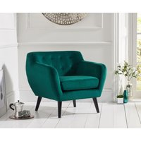 Read more about Thor green velvet accent chair