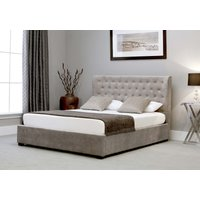 Read more about Kensington wing stone fabric ottoman super king size bed