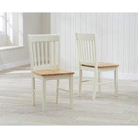 Amalfi Cream Dining Chairs (Pairs)