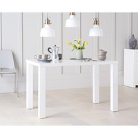 Read more about Atlanta 120cm white high gloss dining table