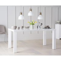 Read more about Atlanta 160cm white high gloss dining table