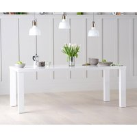 Read more about Atlanta 200cm white high gloss dining table