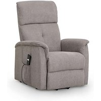 Avra Modern Taupe Velvet Compact Rise and Recline Chair