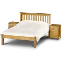 Read more about Basel low foot end solid pine king size bed
