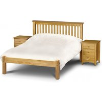 Read more about Basel low foot end solid pine double bed