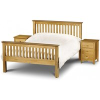 Read more about Basel high foot end solid pine single bed