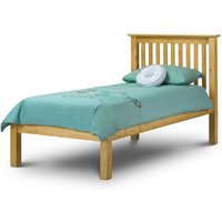 Read more about Basel low foot end solid pine single bed