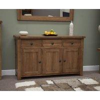 Read more about Rustic 140cm oak sideboard