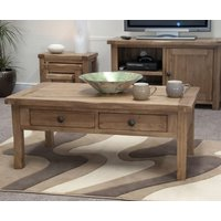 Read more about Rustic oak coffee table