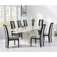 Calacatta 180cm Marble Dining Table with Raphael Chairs