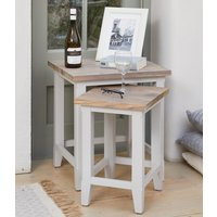 Product photograph showing Harbor Nest Of Two Tables