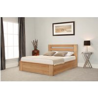 Read more about Charnwood oak ottoman super king size bed