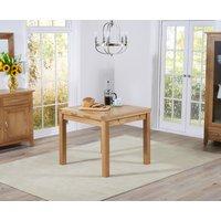 Cheadle 90cm Oak Extending Dining Table