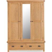 Read more about Sasha three door wardrobe with mirror