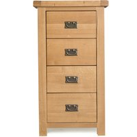 Read more about Sasha 4 drawer narrow chest