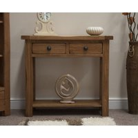 Read more about Rustic oak console table