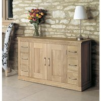 Read more about Mobel solid oak 6 drawer sideboard