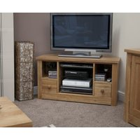 Read more about Reno oak corner tv cabinet