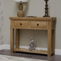 Product photograph showing Deluxe Hall Console Table
