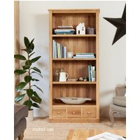 Read more about Mobel solid oak 3 drawer bookcases