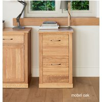 Read more about Mobel solid oak 2 drawer filing cabinet