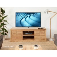 Read more about Mobel solid oak tv cabinet