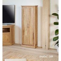 Mobel Solid Oak DVD Storage Cupboard