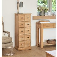 Read more about Mobel solid oak multi-drawer storage chest