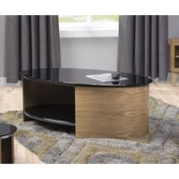 Read more about Curve oak oval coffee table