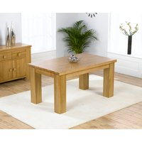 Product photograph showing Kentucky 150cm Oak Dining Table
